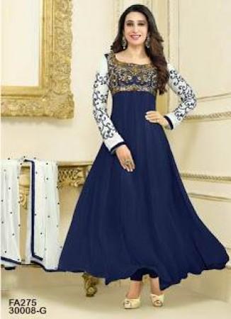 Fabfirki Exclusive blue Designer Salwar Suit