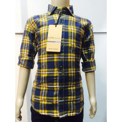 Lyno Fabrica Slim Fit Shirt for Kids Boys