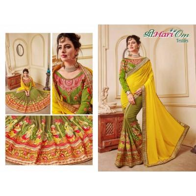 Paper Silk Saree by Vins4u.com