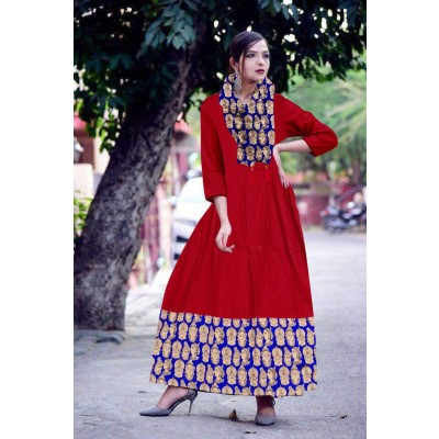Renu  style kurti by Vins4u.com