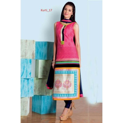Kurti taffeta silk Ready Made