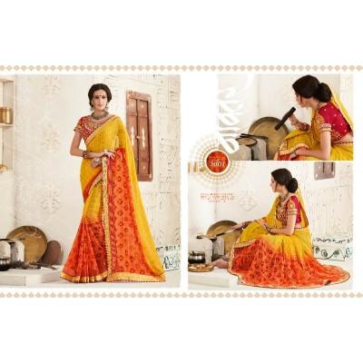 Bandhni Saree