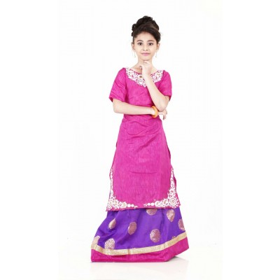 Kids Lehenga Choli semi stitched