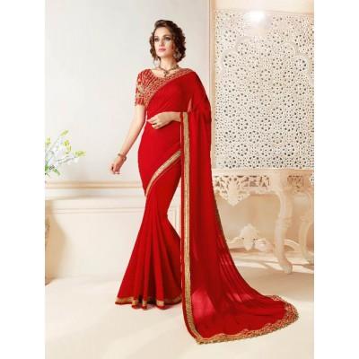 Party Wear Saree by Saree Exotica