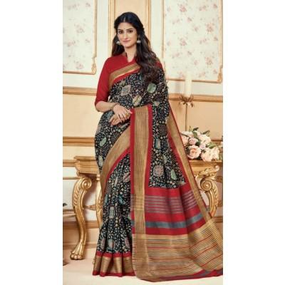 Poly Silk Sarees by Vins4u.com