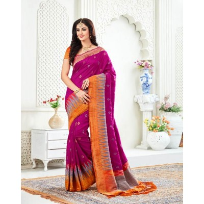 Weaving Line Saree by Saree Exotica