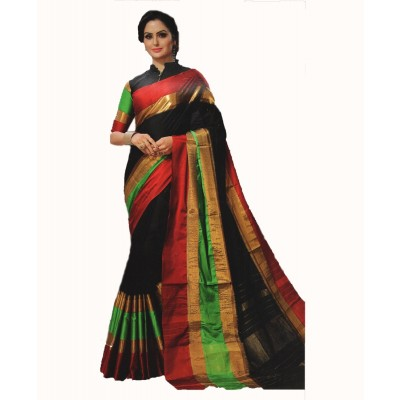 Raw Silk Sarees by Vins4u.com