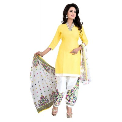 Chariot Ethics Presents Cotton printed Dress Material