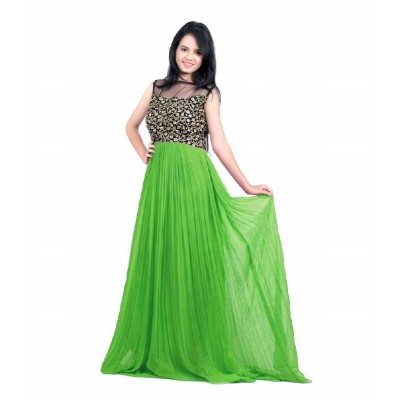 Gown Semistiched Free Size