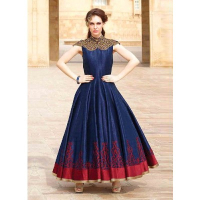 Gown Indo Westarn Stitched Size 40-42