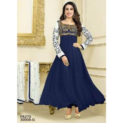Fabfirki Exclusive blue Designer Salwar Suit