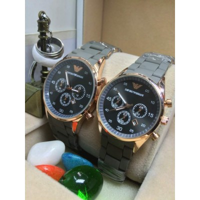 Emporio Warmani Couple Watches