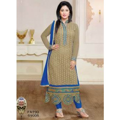 Stylist Designer Straight Cut Salwar Suits