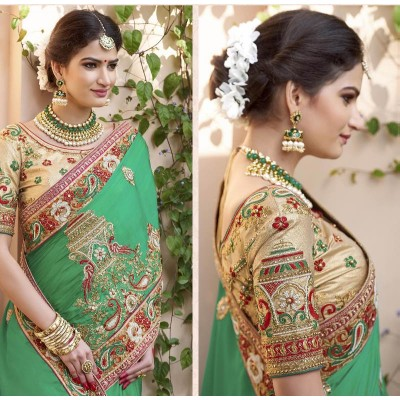 Wedding saree 6.3(5.5 Saree 0.8 blouse )