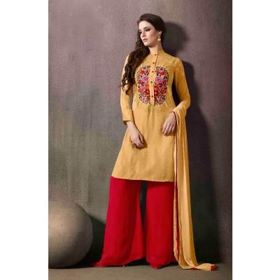 stylist Designer plazzo suit