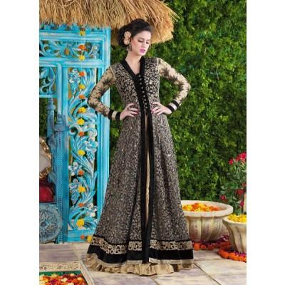Sundram Fab Presents New Gorgeous Black Embroidery Designer Salwar Suit