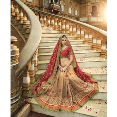 Wedding heavy saree