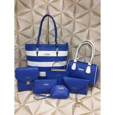 Ladies Bag Combo Zara Stripes
