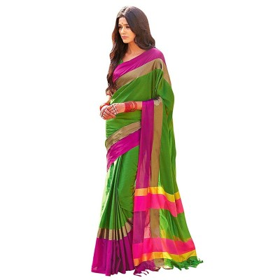 Suhaz Collection Cotton Silk Saree